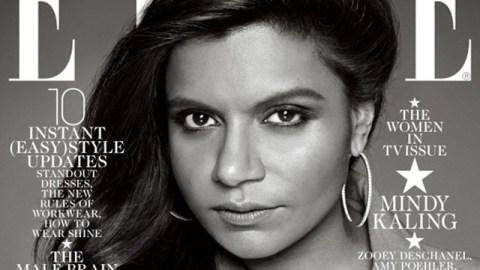 Mindy Kaling's 'Elle' Cover | StyleCaster