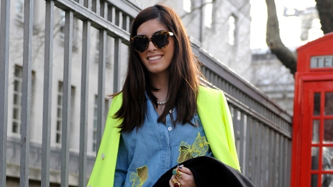 12 Neon Looks to Try This Weekend | StyleCaster