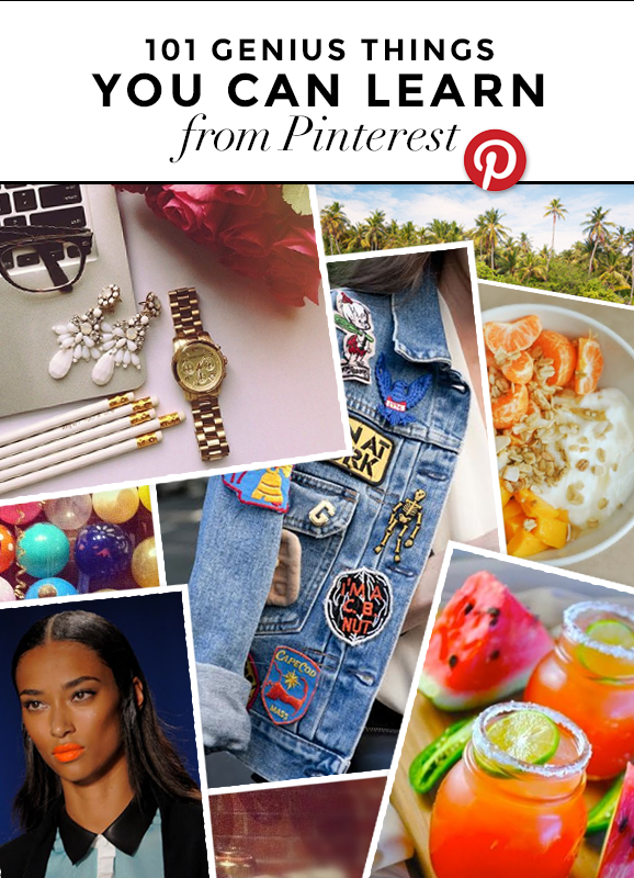 things you can learn from pinterest stylecaster