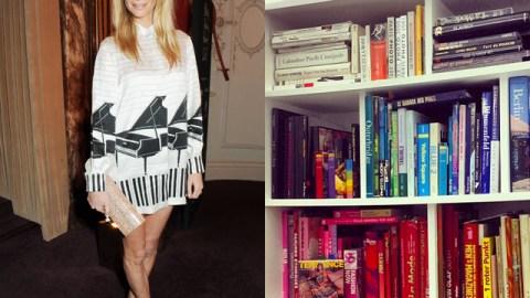How Poppy Delevingne Styles Her Bookcase | StyleCaster