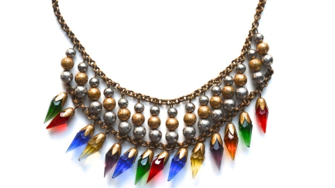 Found: A Perfect Vintage '20s Necklace  | StyleCaster