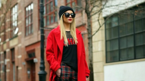 Wearing Red: 30 Outfits To Show You How | StyleCaster