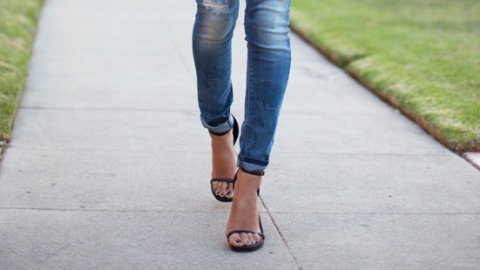 What Shoes to Wear With Skinny Jeans   StyleCaster