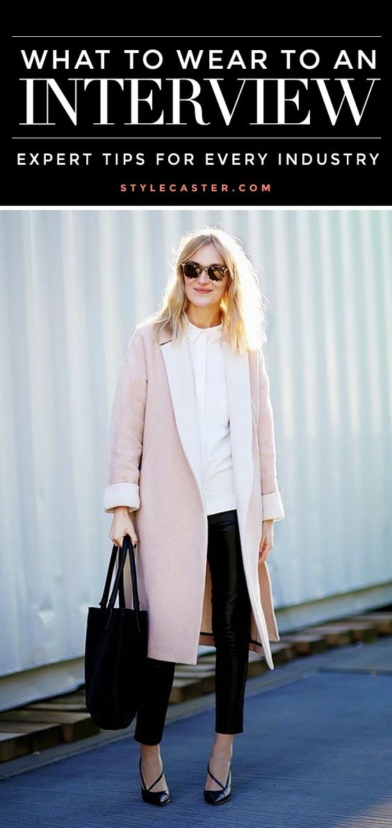 What to wear to a job interview | @stylecaster