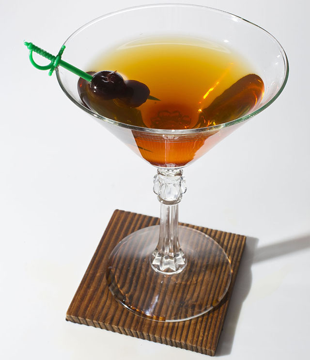 whiskey cocktail Weekend Cocktail: The Whiskey Rebellion