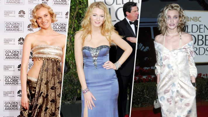 20 Golden Globes Looks We'd Really Like to Forget