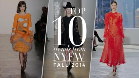 The 10 Big Trends From NYFW | StyleCaster