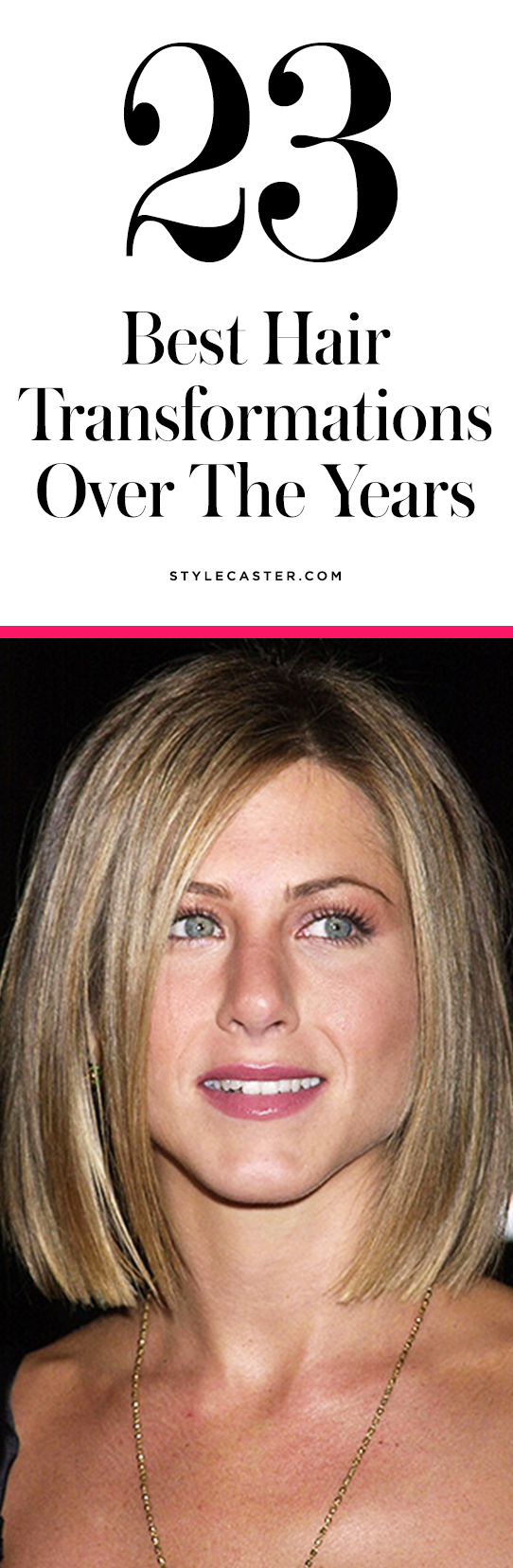 Jennifer Aniston's best hair looks | @stylecaster