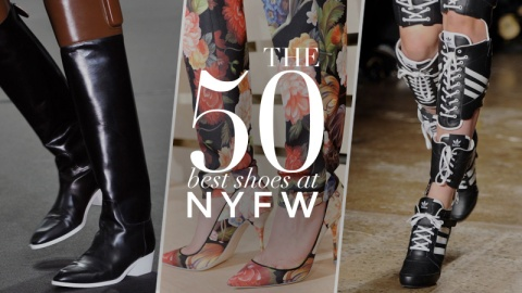 50 Best Shoes From NY Fashion Week   StyleCaster