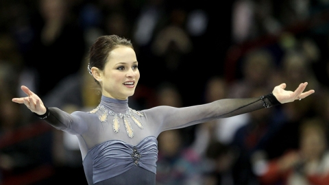 Sasha Cohen Talks Figure Skating Fashion   StyleCaster