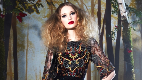 Alice +Olivia Fall 2014: A Fairytale   StyleCaster