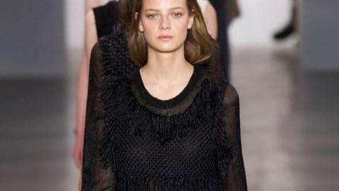 Calvin Klein Channels Ladylike Grunge  | StyleCaster