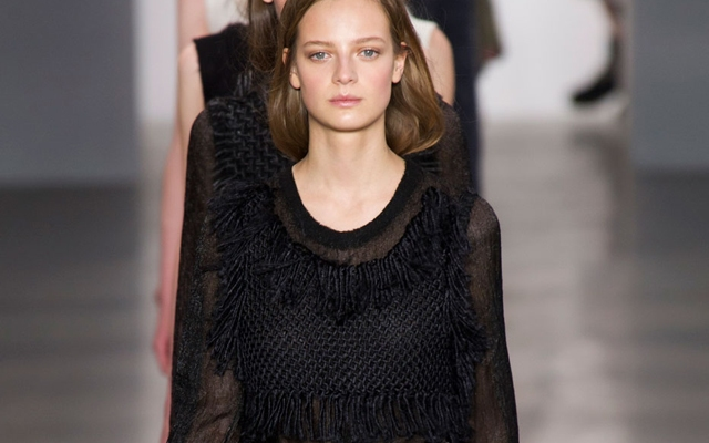Calvin Klein Channels Ladylike Grunge For Fall