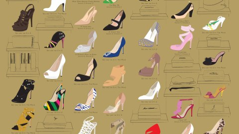 The Many Shoes of Carrie Bradshaw | StyleCaster