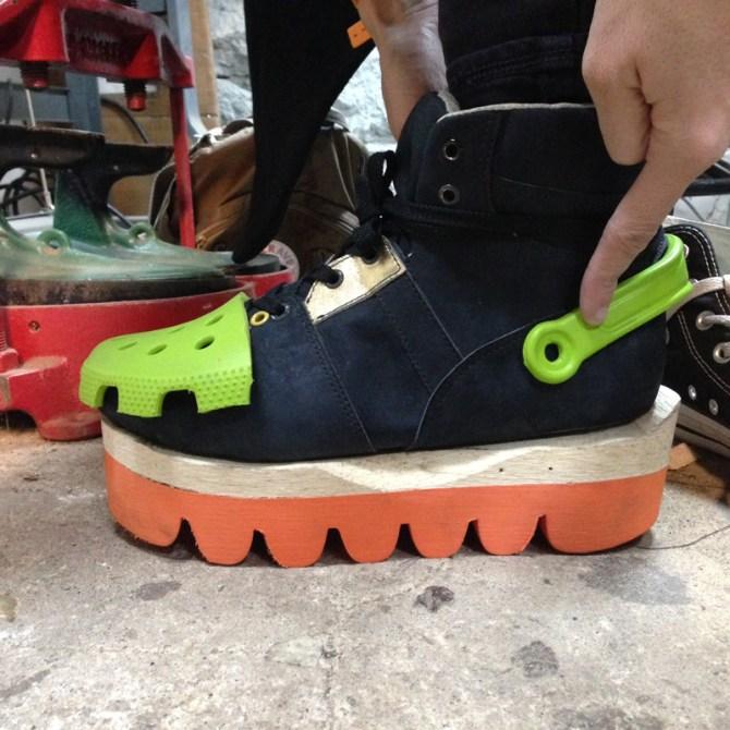 DEGEN crocs design