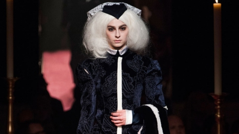 Thom Browne Built a Church for NYFW | StyleCaster