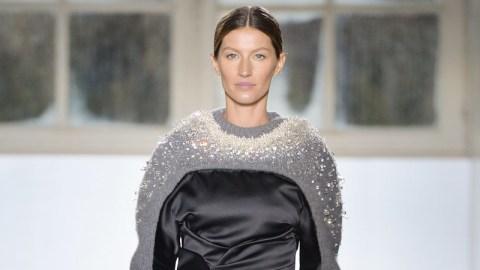 Gisele Walked in Balenciaga! | StyleCaster