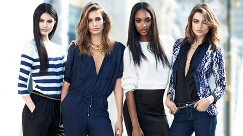 Spring Trend: Black and Blue | StyleCaster