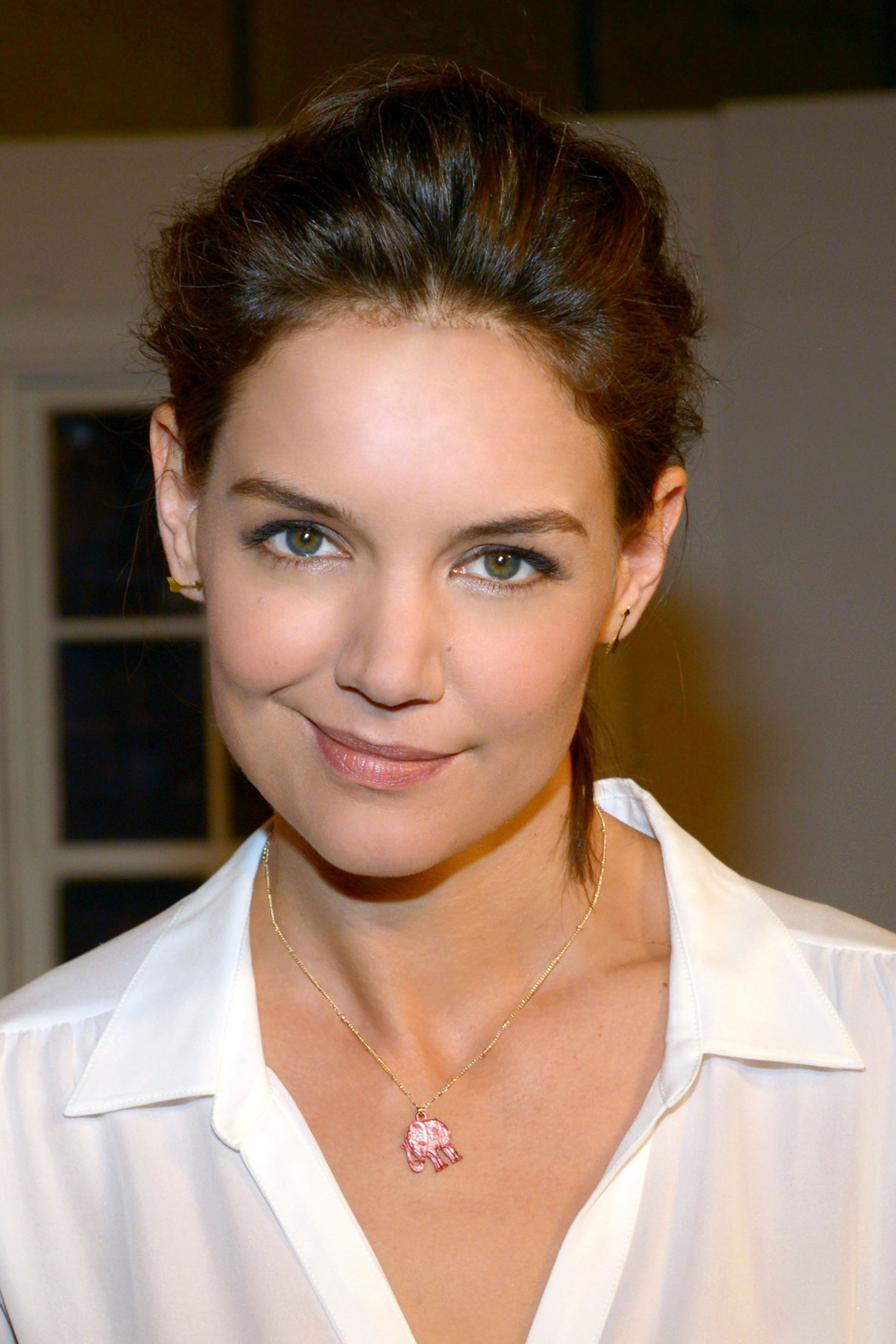 Katie Holmes Partners with Kohl's to Promote Their Pink Elephant Campaign to Support Breast Cancer Awareness