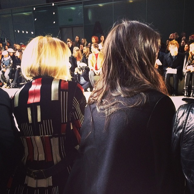 kendall jenner anna wintour Kendall Jenner and Anna Wintour Sat Together at London Fashion Week: What it Could Mean