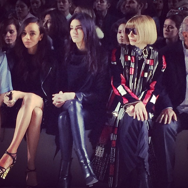 kendall Kendall Jenner and Anna Wintour Sat Together at London Fashion Week: What it Could Mean