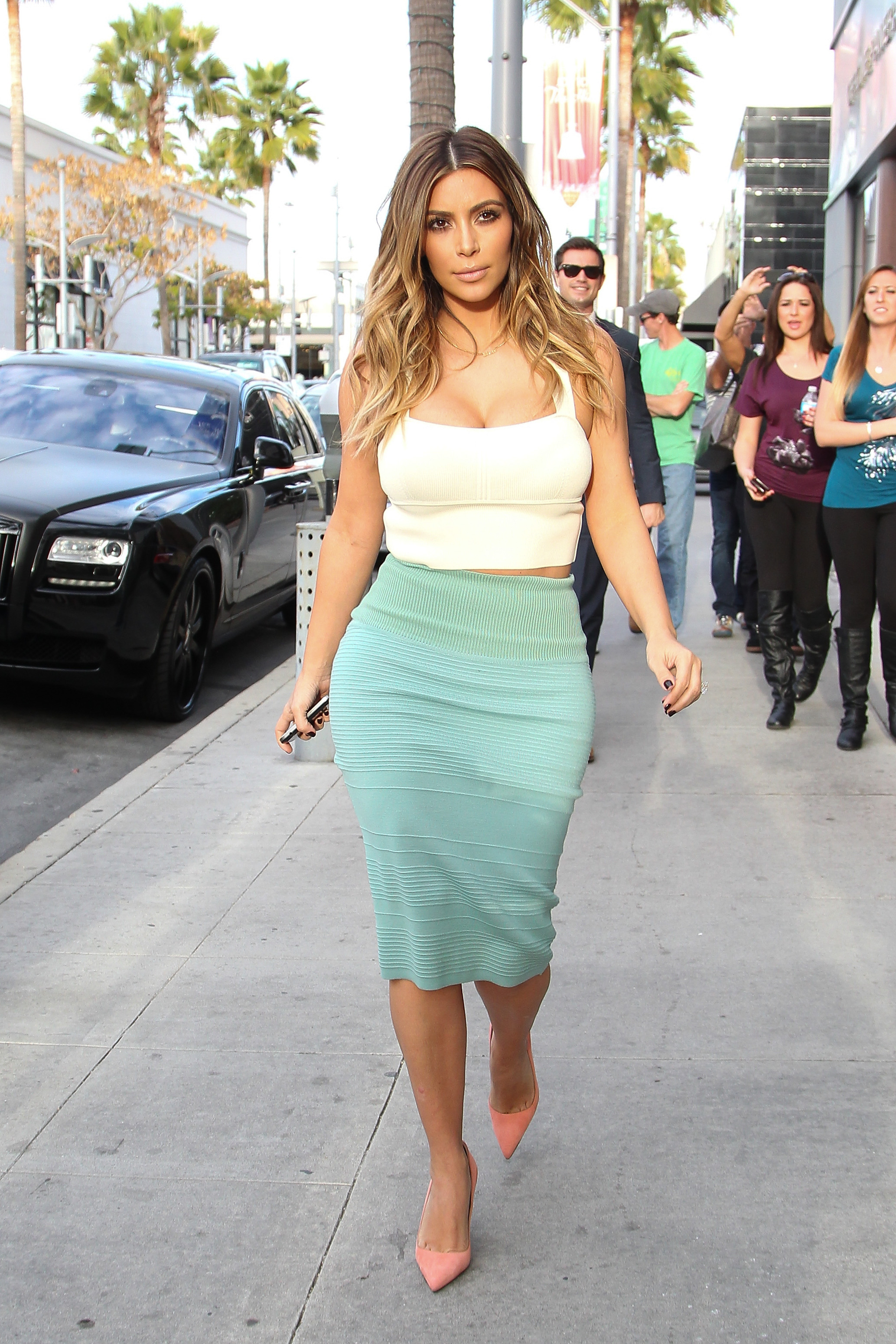 Celebrity Sightings In Los Angeles - January 06, 2014