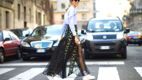 Street Style Snaps from Milan   StyleCaster