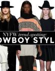 NYFW Trend-Spotting: Western Wear