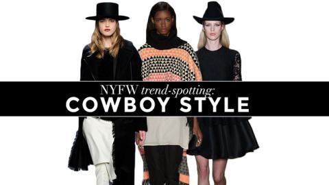 NYFW Trend-Spotting: Western Wear | StyleCaster