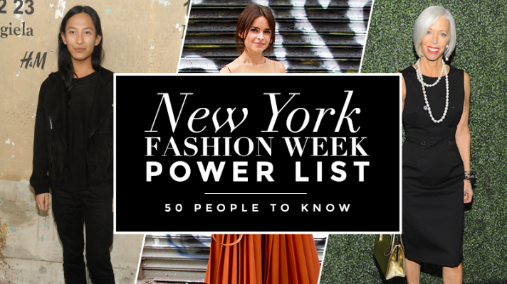 New York Fashion Week Power List: 50 People To Know On and Off the Runway