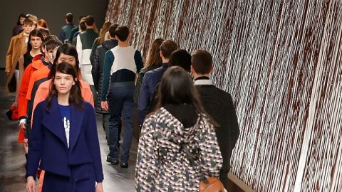Chocolate Walls at Opening Ceremony's Show | StyleCaster