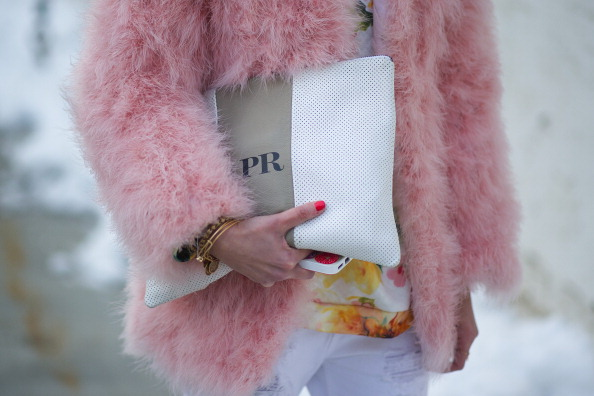Street Style Trend: Pink Coats are Literally Everywhere This Fashion Week