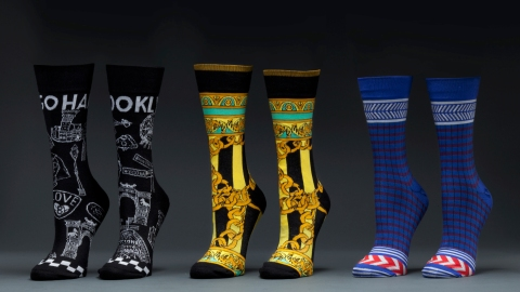 Badass Socks Designed by Santigold   StyleCaster