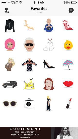 harpers bazaar emojis