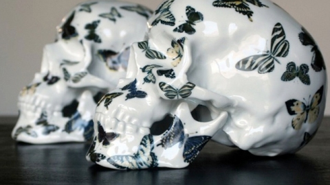 Stuff We Love: Creepy But Chic Porcelain Skulls | StyleCaster