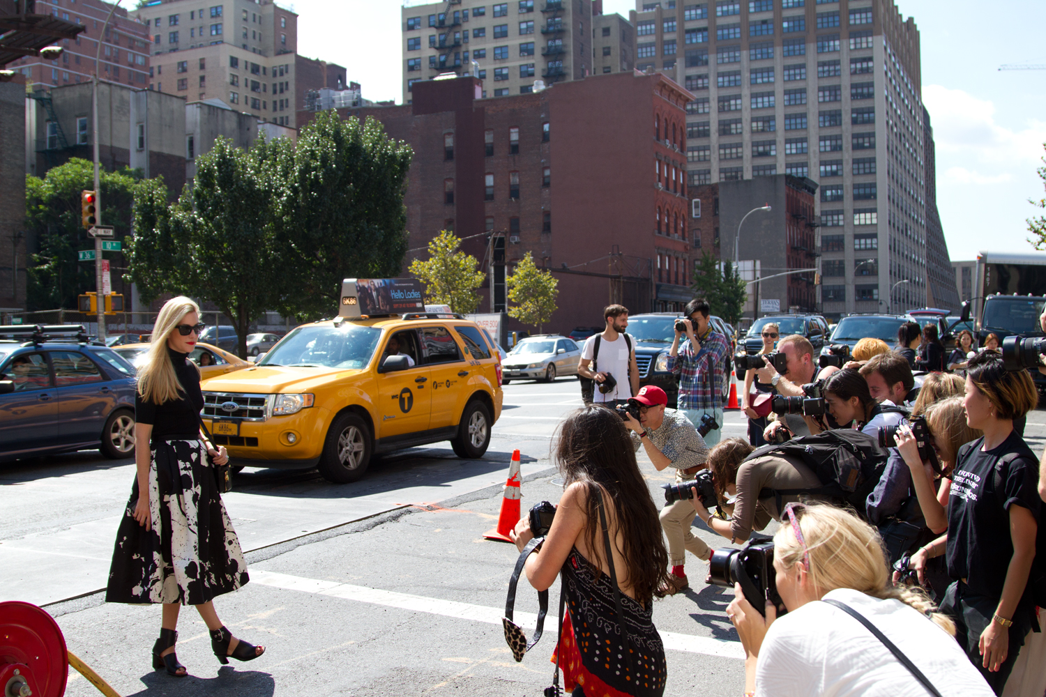 street style1 What 25 New York Fashion Week Designers Really Think of Street Style