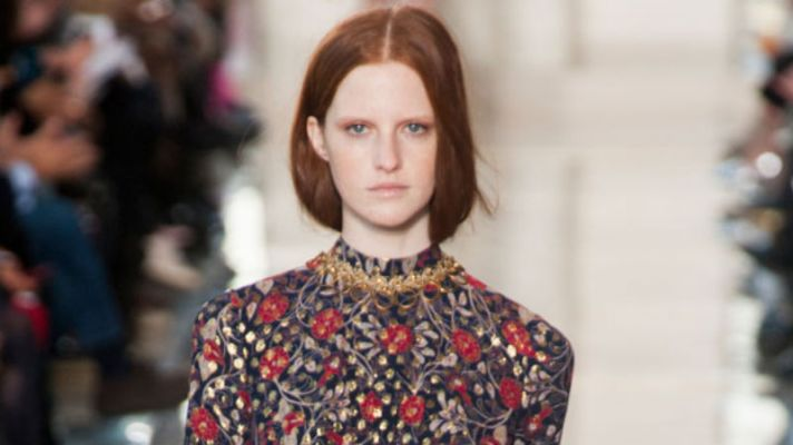 Tory Burch Makes Renaissance Glamour Wearable for Fall 2014