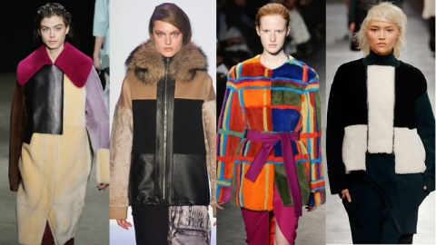 NYFW Trend: Color-Block Coats | StyleCaster