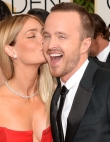 Aaron Paul and Wife: Sickeningly Cute