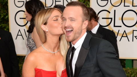 Aaron Paul and Wife: Sickeningly Cute | StyleCaster