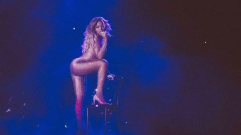 Beyoncé's New Costume: A Nude Bodysuit | StyleCaster