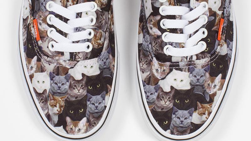 Vans Debuts New Cat Sneakers   StyleCaster