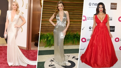 Celebrity Boobs: The Real Oscars Trend | StyleCaster
