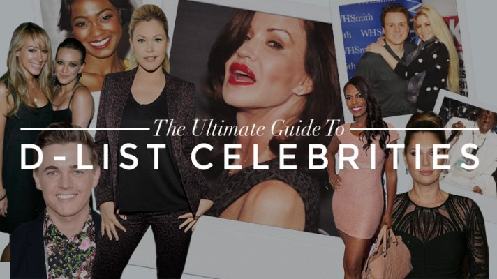 These D-List Celebrities Are A-List in Our Book