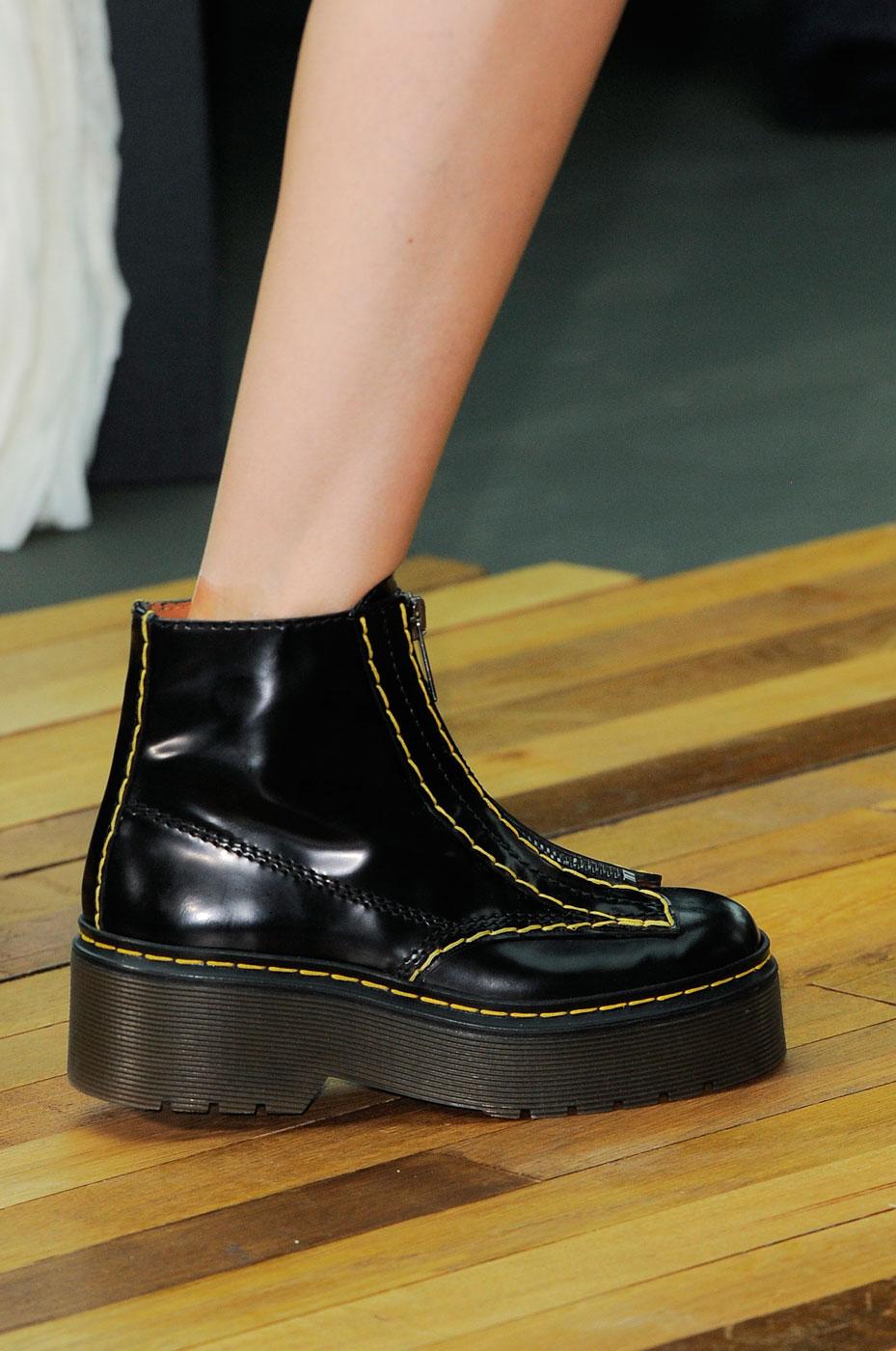 Céline Fall 2014 boots combat doc martens