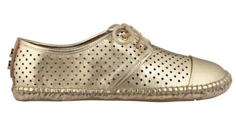Found: Cool Metallic Espadrille Flats | StyleCaster