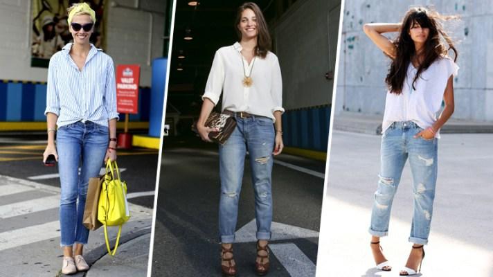 How to Wear Boyfriend Jeans: 10 Stylish Outfits
