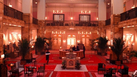 """Step Inside the Amazing Interiors On """"The Grand Budapest Hotel""""   StyleCaster"""