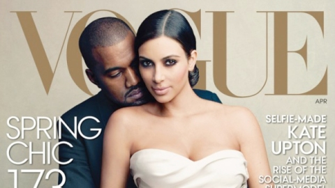 Kim and Kanye: On the Cover of Vogue | StyleCaster
