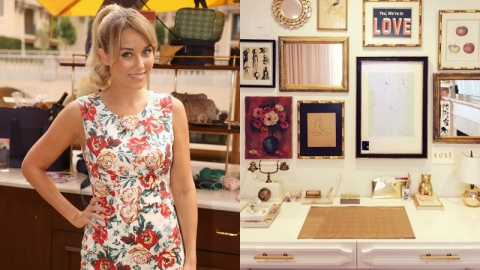 How to Recreate Lauren Conrad's Desk | StyleCaster
